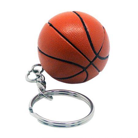3D Basketball Key Chain - 3D Sports keychain