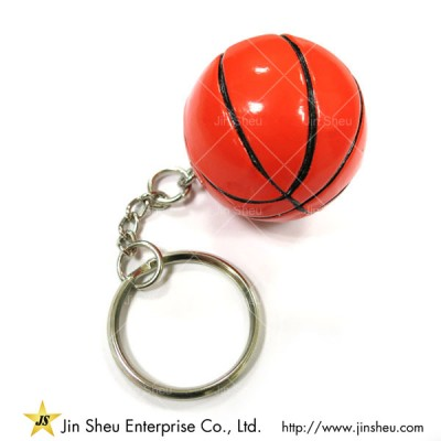 3D Basketball Key Chain - 3D Sports keychain