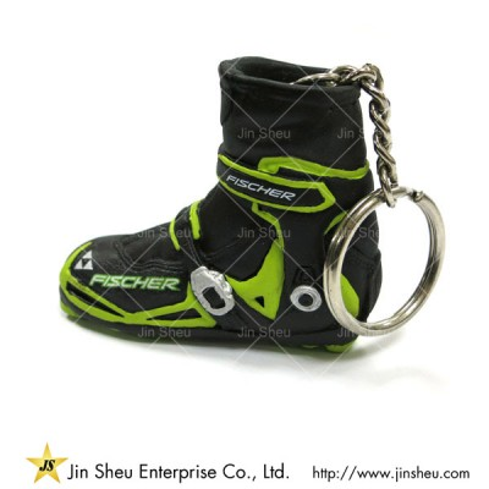 3D Running Sneaker Shoe Keychain - 3D Running Sneaker Shoe Keychain