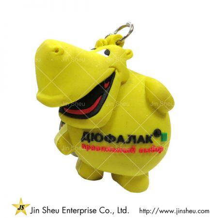Custom PVC Rubber Animal Mascot Keyring - Custom PVC Rubber Animal Mascot Keyring