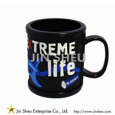 Customized Soft PVC Mug