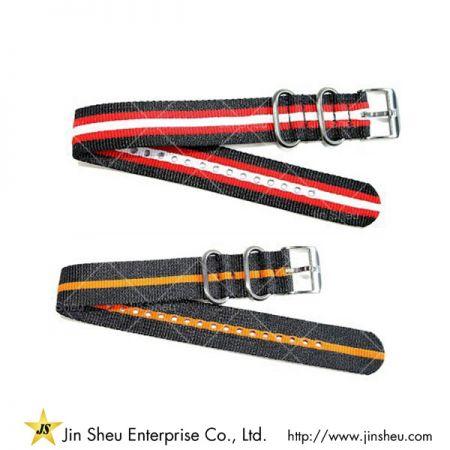 Custom Fabric Nylon Watch Strap - vintage watch strap