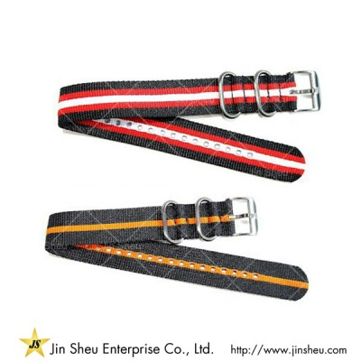 Custom Fabric Nylon Watch Strap - vintage watch strap