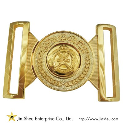 Interlocking Gold Belt Buckle