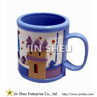 Custom Made Rubber Mug for Kids