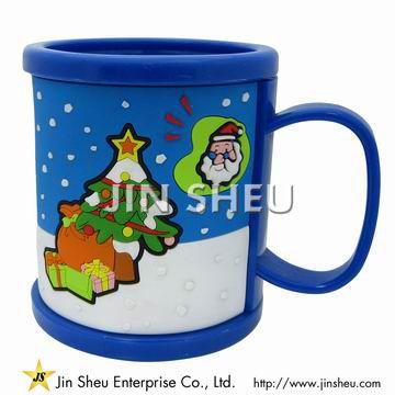 Personalized Christmas PVC Mug - Personalized Christmas PVC Mug