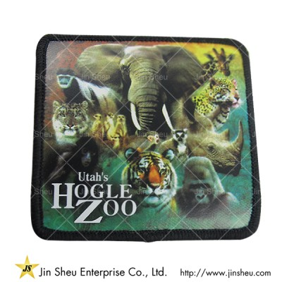 Heat Transfer Printed Patches - Custom Dye Sublimated Patch