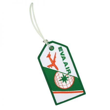 Custom Embroidery Luggage Tag - Custom Embroidery Luggage Tag