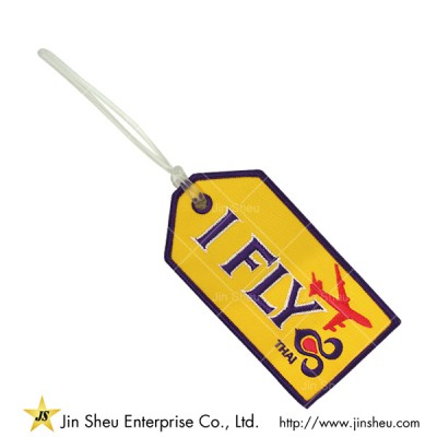 Airline Embroidery Luggage Tag - Airline Embroidery Luggage Tag