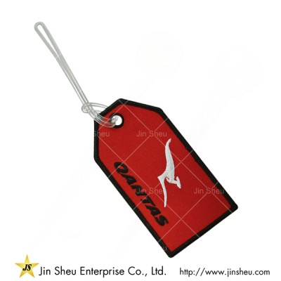Custom Made Embroidery Luggage Tags - Custom Made Embroidery Luggage Tags
