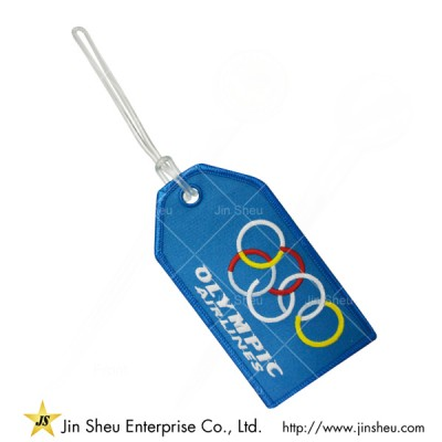 Olymic Airlines Embroidered Luggage Tag - Olymic Airlines Embroidered Luggage Tag