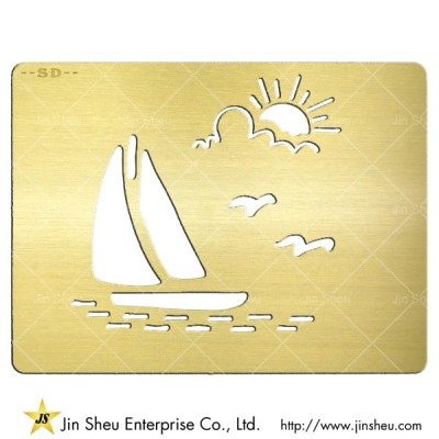 Customized Etched Metal Card - Customized Etched Metal Card