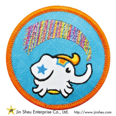 Rainbow Colored Woven Patches - Woven Patches Rainbow Color