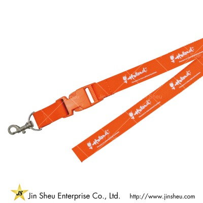 Polyester Lanyard with Release Buckle - Polyester Lanyard with Release Buckle