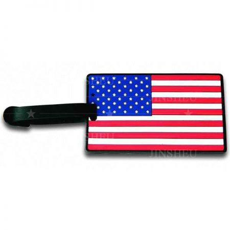 Country Flag Bag Tags - Country Flag Bag Tags