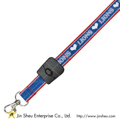 Multi Background Colored Polyester Lanyard - Multi Background Colored Polyester Lanyard