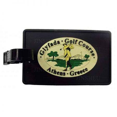 Golf PVC Bag Tags - Golf PVC Bag Tags