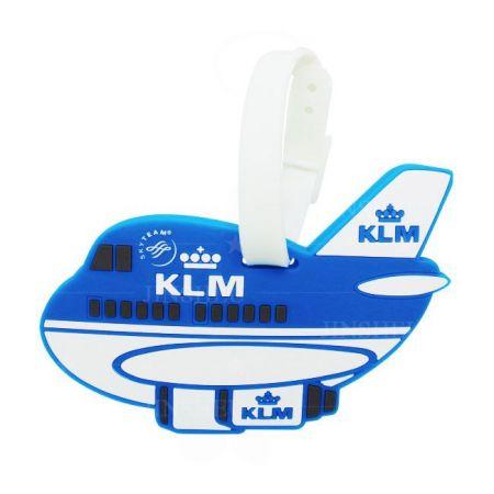 Aircraft PVC Luggage Tags - Aircraft PVC Luggage Tags
