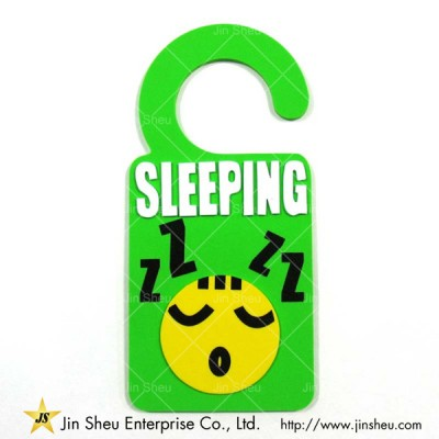 Custom Soft PVC Door Hanger - Custom Soft PVC Door Hanger