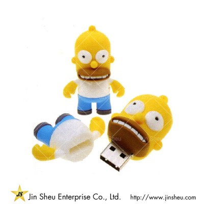 The Simpson Family USB Flash Drive - The Simpson Family USB Flash Drive