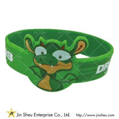 Special Cut Shape Silicone Bracelets - Special Cut Shape Silicone Bracelets