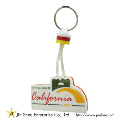 Personalized EVA Floating Key Chains - Personalized EVA Floating Key Chains