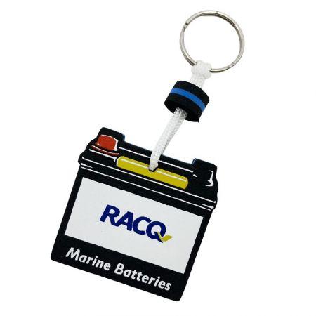 Custom Made EVA Floating Key Holders - Custom Made EVA Floating Key Holders