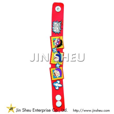 Cartoon Soft PVC Wristband - Cartoon Soft PVC Wristband
