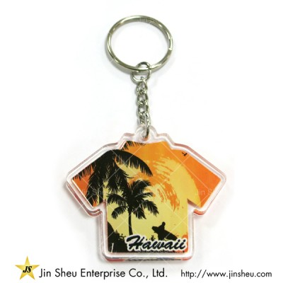 Custom Made Acrylic Key Chain - Custom Made Acrylic Key Chain