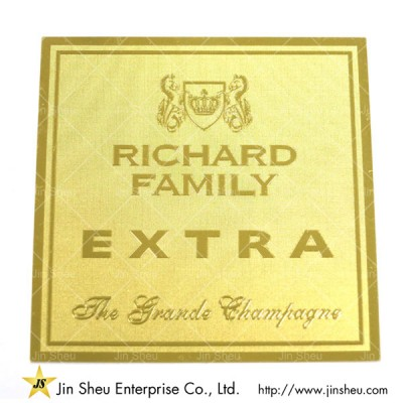 Gold Souvenir Metal Business Card - Gold Souvenir Metal Business Card