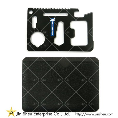 Multi-function Survival Tool Card - Metal Credit Card Survival Tool