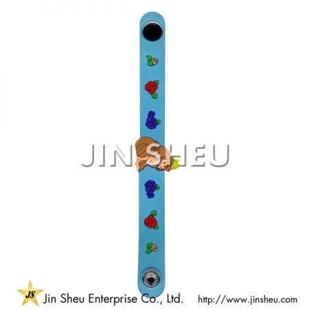 Cute Custom Made PVC Wristband - Cute Custom Made PVC Wristband
