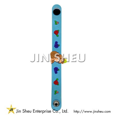 Cute Custom Made PVC Wristband - Cute Custom Made PVC Wristband