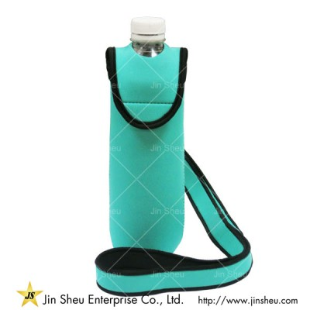 Water Bottle Holder with Shoulder Strap - Water Bottle Holder with Shoulder Strap