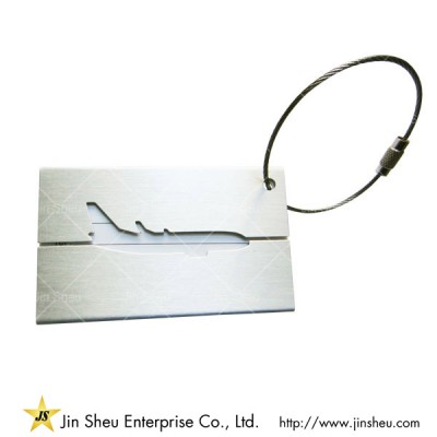 Metal Luggage Name Tag