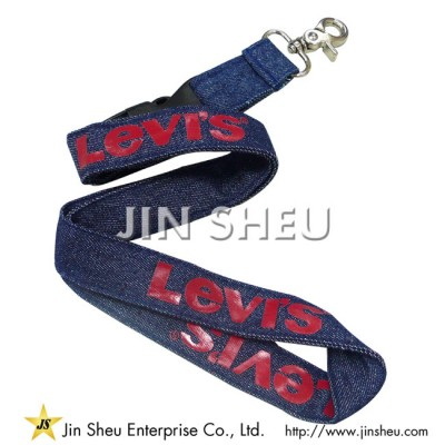 Denim Lanyard - Denim Lanyard