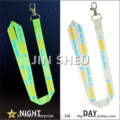 Custom Glow in the Dark Lanyards - Custom Glow in the Dark Lanyards