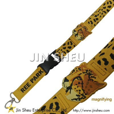 Custom Lanyard With Soft PVC Labels - Custom Lanyard With Soft PVC Labels