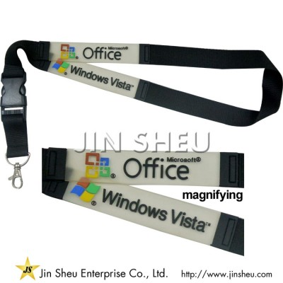 Personalized Lanyard With Soft PVC Labels - Personalized Lanyard With Soft PVC Labels