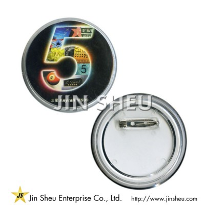 Custom Acrylic Button Pin - Custom Acrylic Button Pin