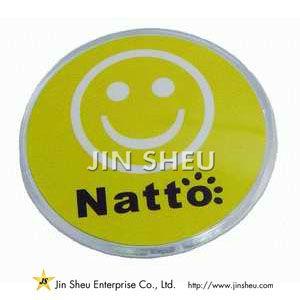 Promotie acryl badge - Promotie acryl badge