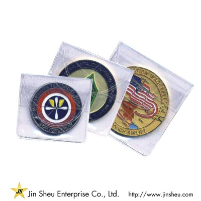 PVC Pouch for Challenge Coins