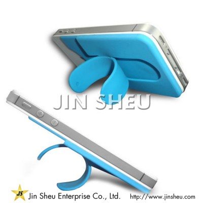 Silicone Mobile Phone Stand with Card Holder - Silicone Mobile Phone Stand with Card Holder