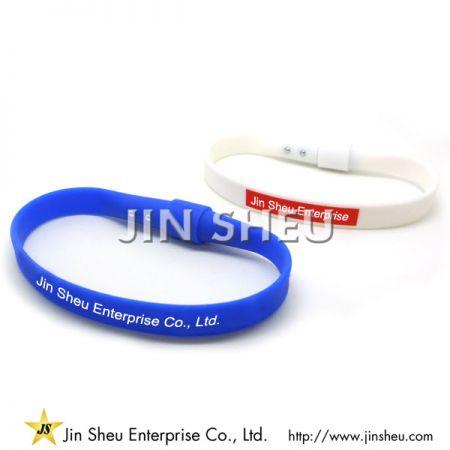 Silicone Wristband with Stylus - Silicone Wristband with Stylus