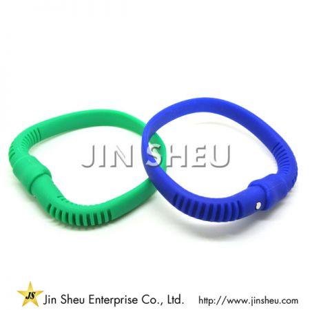 Silicone Wristband Stylus with Custom Logo - Silicone Wristband Stylus with Custom Logo