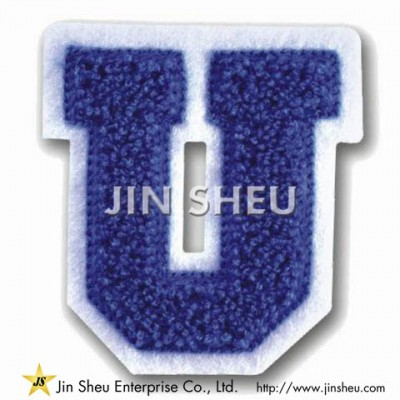 Chenille Letter Patches - Chenille Letter Patches