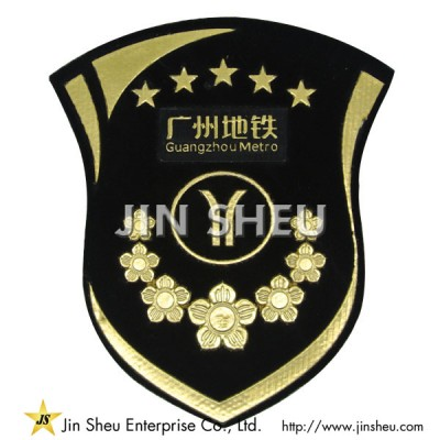 Customized Embossed PVC Patches - PVC Patches Maker