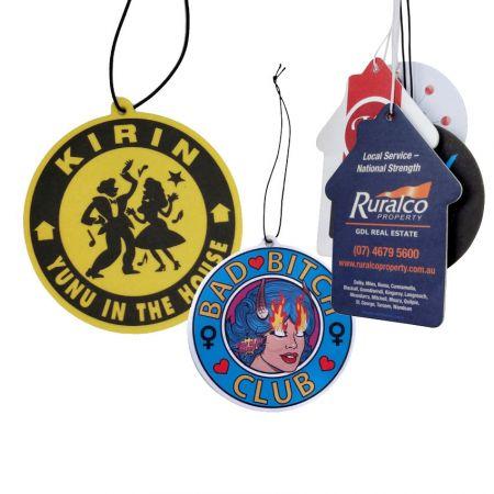 Custom Made Car Air Freshener - Paper Air Fresheners
