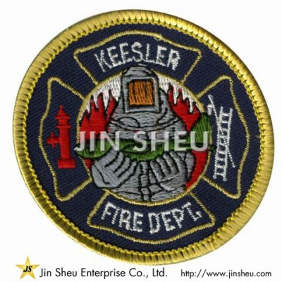Fire Department Embroidery Patches - Fire Department Embroidery Patches