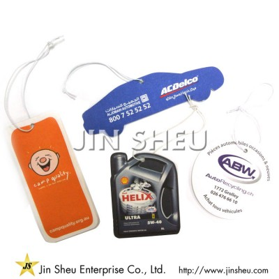 Car Air Freshener Absorbent Paper - Scented paper card for car